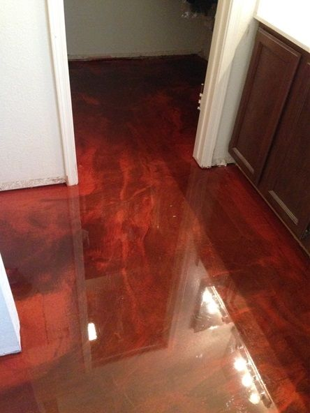 Tucson Arizona Metallic Epoxy Coating  epoxy floors