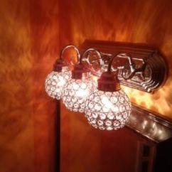 Chair Covers Ideas Best Nursery {sierra's Bathroom Lights} Portfolio 4-3/4-in Crystal Vanity Light Glass Model #: N721c $19.98 ...