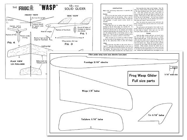 Outerzone : Wasp plan : download free vintage model