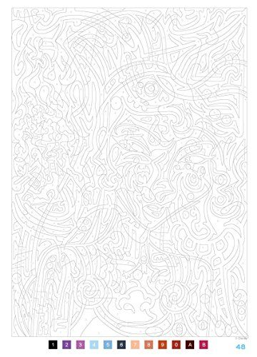99 best images about coloriage numeros on Pinterest