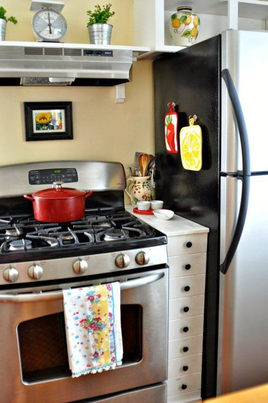 10 Projects  Products to Fill Awkward Appliance Gaps