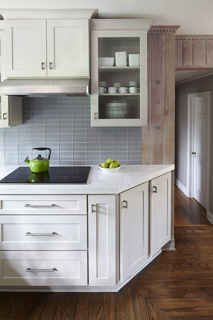 kitchen cupboards ideas boos islands angled end cabinet eases into passageway. shown in ...
