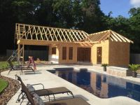 Pool and pool house ideas | Outdoors | Pinterest | Pool ...