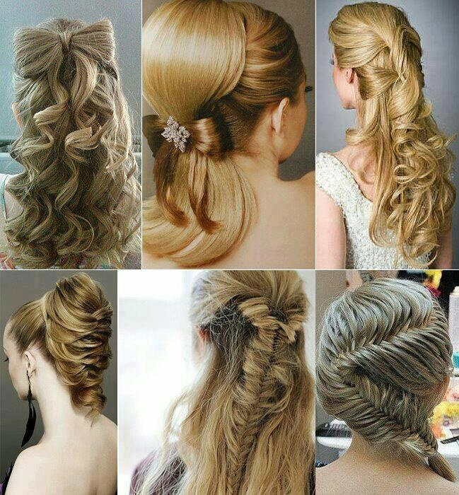 35 Best Images About Hairstyles On Pinterest Half Up Hair Dos
