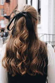ribbon hairstyle ideas