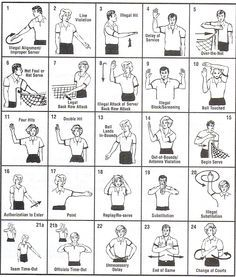 17 Best images about Ref Hand Signals on Pinterest