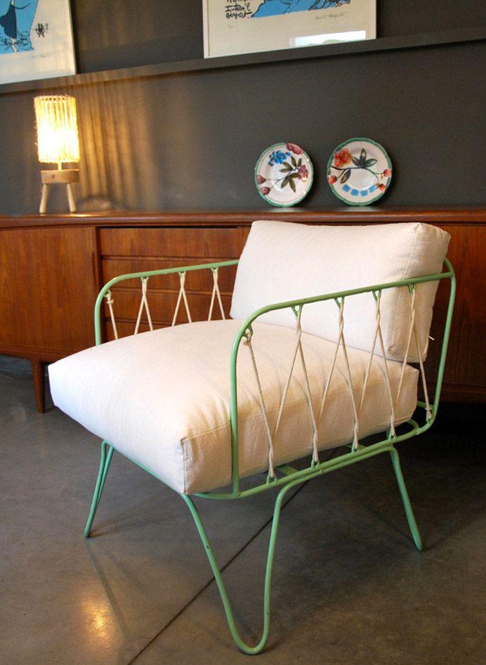 50's kitchen table and chairs set honoré décoration - fauteuils et tabourets fauteuil ...