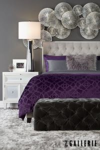 25+ best ideas about Purple bedrooms on Pinterest