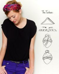 1000+ ideas about Tie Head Scarves on Pinterest | Headband ...