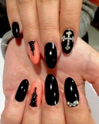 17 Best ideas about Cross Nail Designs on Pinterest ...