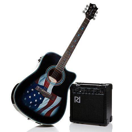 Randy Jackson American Tribute Guitar And Amp 20pc Pkg