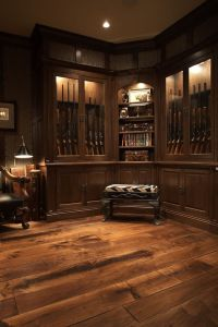 Built In Gun Cabinet - WoodWorking Projects & Plans
