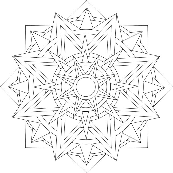25+ best ideas about Mandala coloring on Pinterest