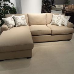 Sofa Cushions Online Canada Signature Design By Ashley Darcy Review Furniture : Beautiful Cream Sectional Bed With ...