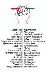 1000+ images about Brain: Right Left Functions on