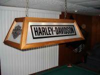 Harley Davidson Pool Table Lamp | Pool Table Ideas ...