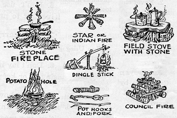 A Introduction to Campfires: An Illustrated Guide from