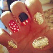 disneyland nails disney