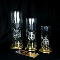 Vintage Classic Wolfard Oil Lamp Clear Glass Set with ...