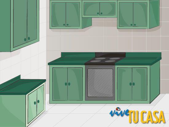 Como disenar una cocina for Disenar muebles de cocina online