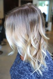 light blonde ombr cool shit