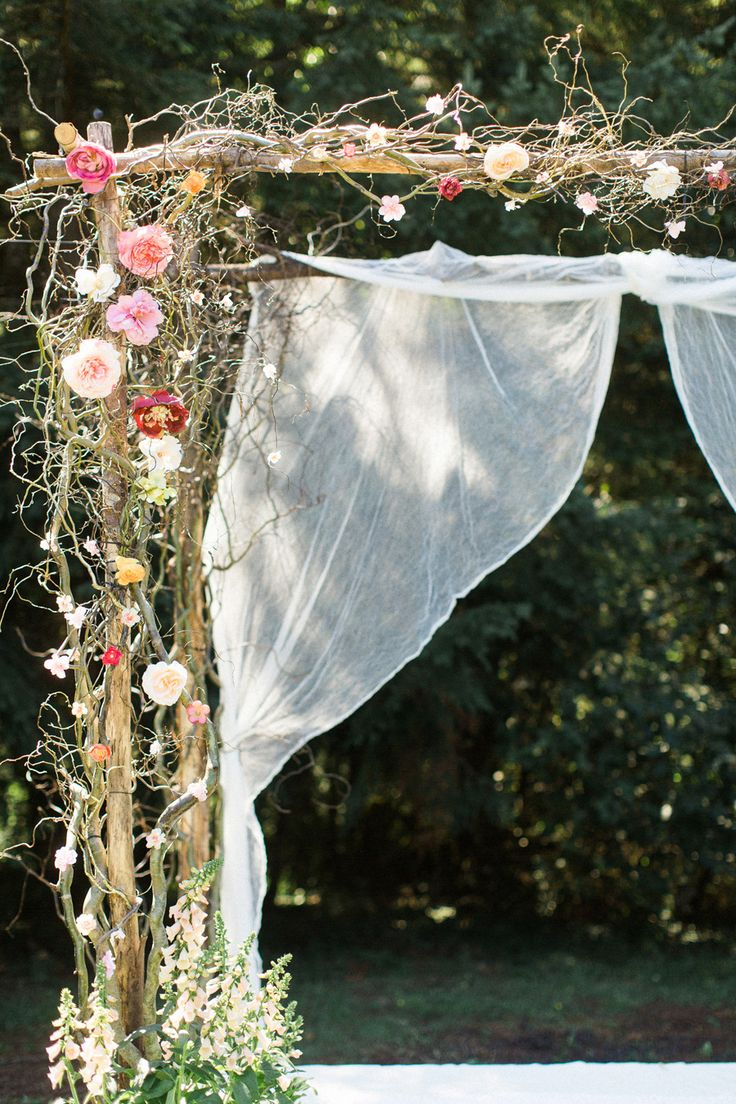 25 Best Ideas About Outdoor Wedding Canopy On Pinterest Www