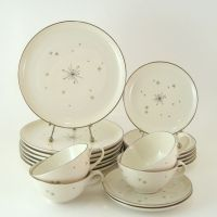 Vintage Dinnerware Set, Syracuse China Evening Star, Mid ...