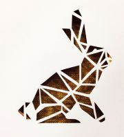 canvas cutout #rabbit