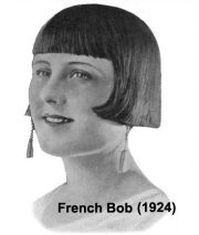 flapper hairstyle