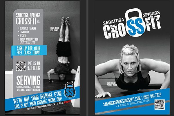 Crossfit Flyer Graphic Design Pinterest Logos