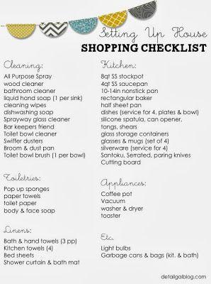 Best 25+ College apartment checklist ideas on Pinterest