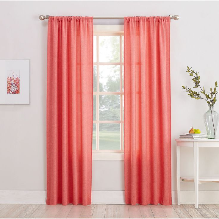 25 Best Ideas About Coral Curtains On Pinterest Coral Bedroom