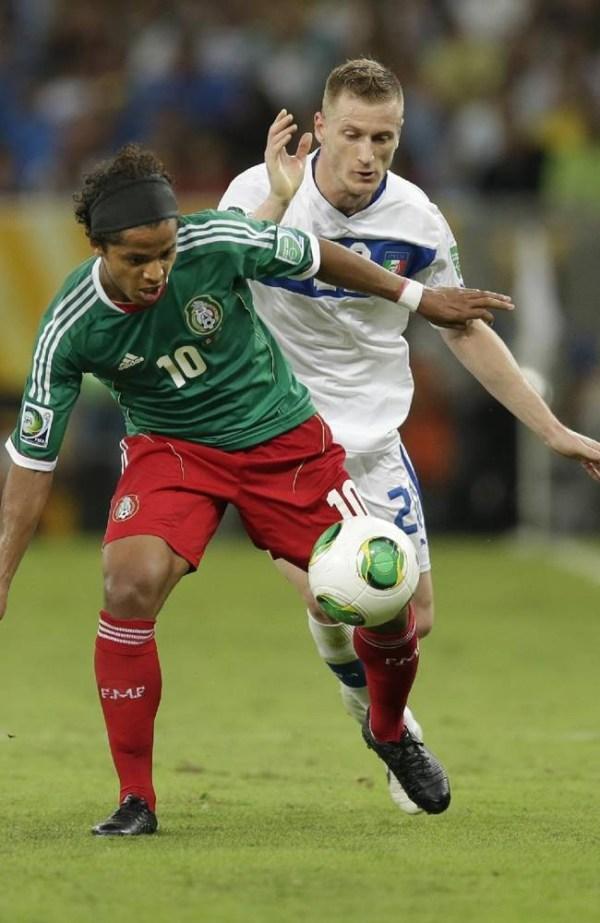 Giovani dos Santos on the Mexico National Team against