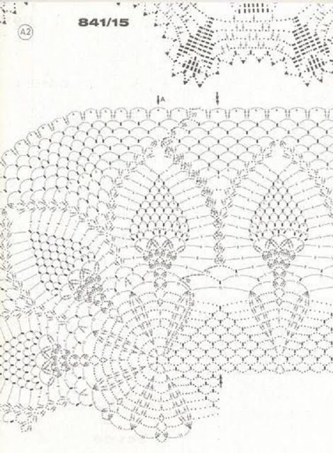 1000+ images about Oval Crochet Doilies on Pinterest
