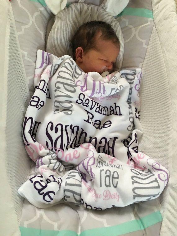 baby blankets monogrammed