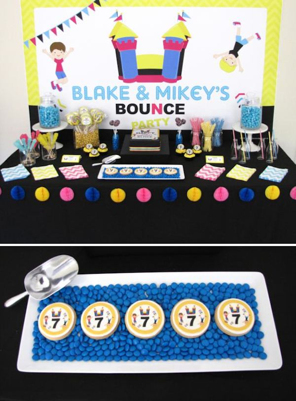 25 Bästa Bounce House Parties Idéerna På Pinterest