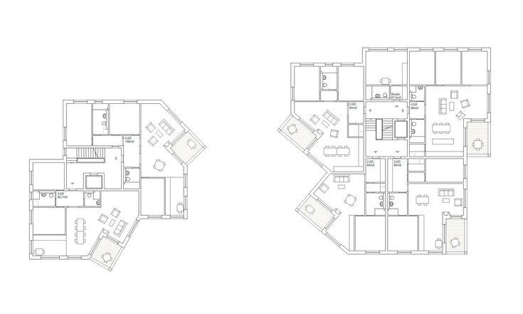 Sergison Bates . Seebach housing buildings . Zurich (11