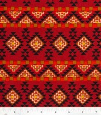 Novelty Fabric- Aztec Wall : novelty quilt fabric ...