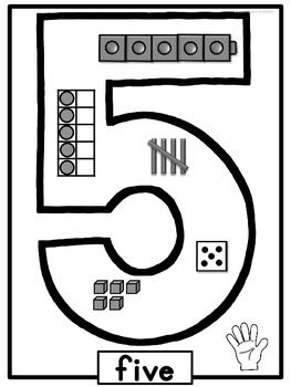 53 best images about Number Writing Practice on Pinterest