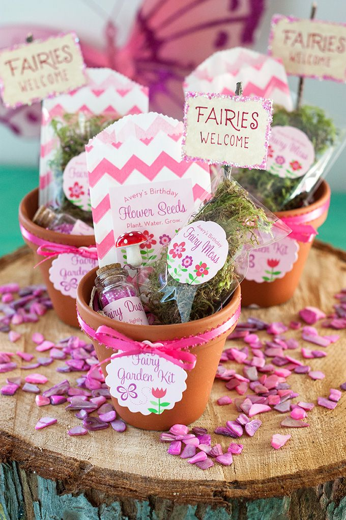 25 Best Ideas About Fairy Party Favors On Pinterest Tinkerbell