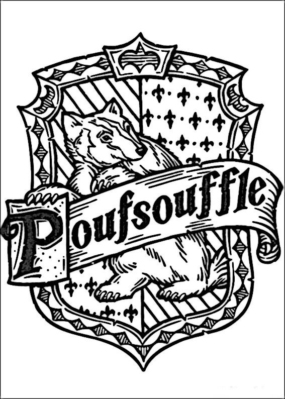 Dibujos Para Colorear Harry Potter 58