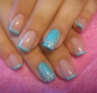 6106 best images about Funky French Tip Nails on Pinterest ...