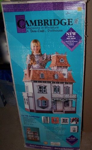 Super cute doll house kit  Products I Love  Pinterest  Doll houses Dolls and House