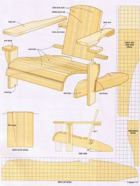 Fine Woodworking Adirondack Chair Plans - WoodWorking ...