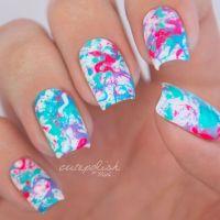 25+ beste ideen over Splatter Nails op Pinterest ...