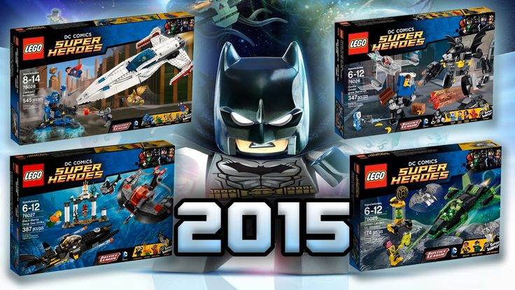 LEGO DC 2015 Justice League Sets FULL ANALYSIS Lego