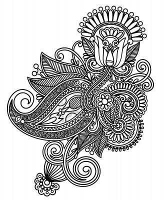 Henna Clipart Galería y la realeza de henna vectores