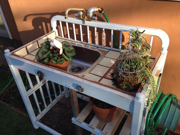 Repurposed changing table  Tuin  Pinterest  Sinks