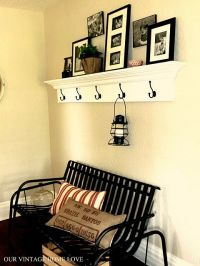 add crown molding to a coat rack | Making our house a home ...