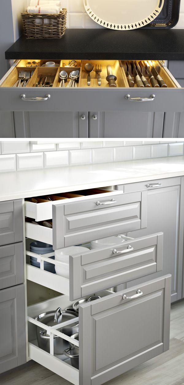 Kitchen Drawers Clever Storage